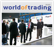 Trading-PC Messestand World of Trading
